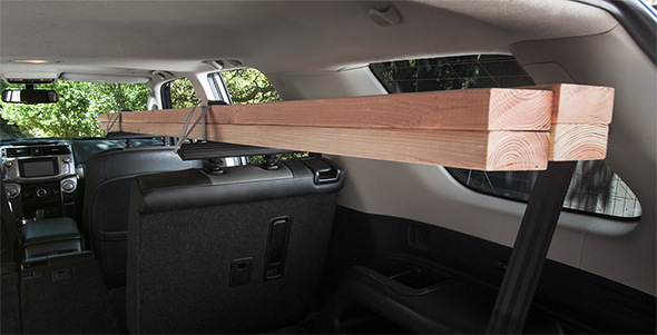 Seatrack A Cargo Rack For Inside Your Suv
