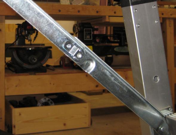 Sharp Metal on Craftsman Peg Workbench