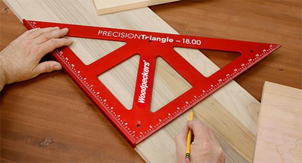Woodpeckers Precision Triangle