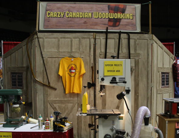 2016 Woodworking Show From A Different Perspective