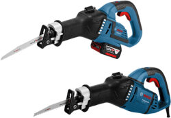 New Bosch Ergonomic Cordless and Corded Reciprocating Saws