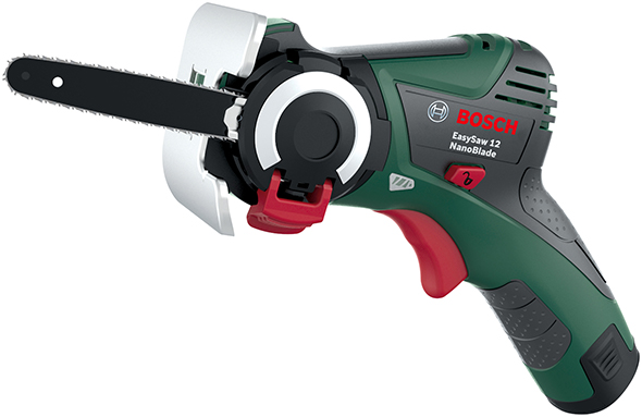 new bosch nanoblade mini chainsaws for diyers and all their wood cutting needs. Black Bedroom Furniture Sets. Home Design Ideas