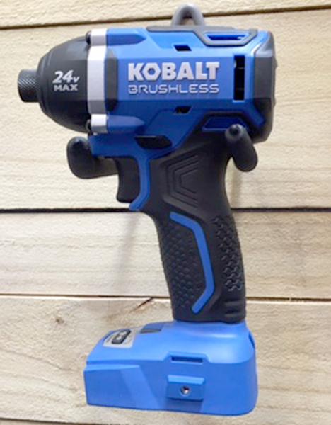 New Kobalt 24v Max Brushless Power Tool Lineup