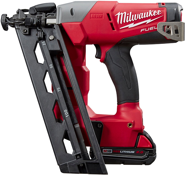 Milwaukee 2742 M18 Fuel 16 Ga Angled Finish Nailer