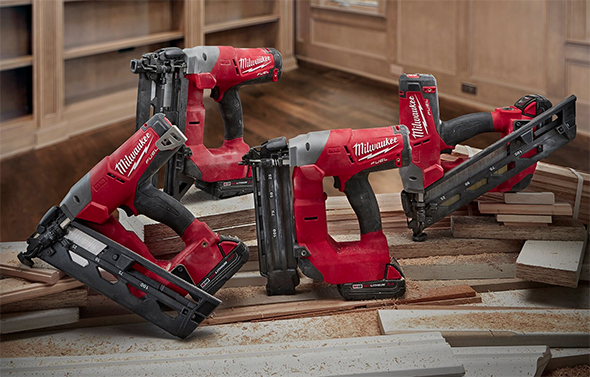 new milwaukee m18 fuel brushless brad and finish nailers
