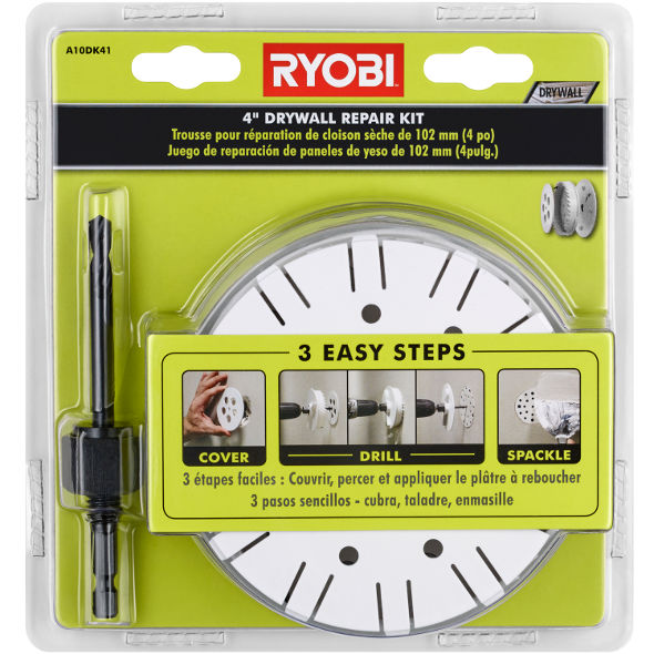 Ryobi Drywall Repair Kit Product Shot