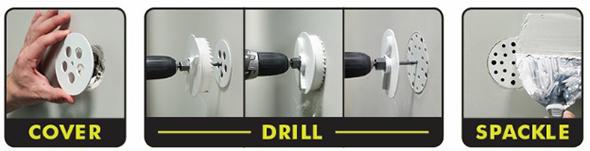 Ryobi Drywall Repair Kit