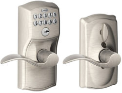 Schlage Keypad Door Lock for Securing the Basement Door?