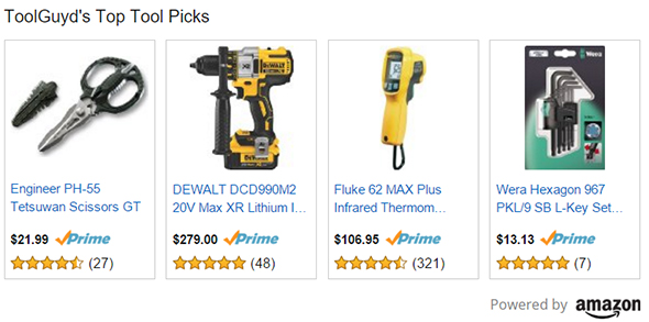ToolGuyd Top Tool Picks Amazon Box