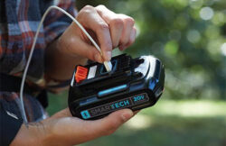 Black & Decker SMARTECH Battery Pack has Bluetooth and Built-in USB Port
