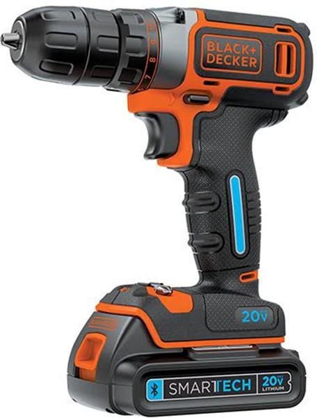 Black & Decker Smartech Cordless Drill