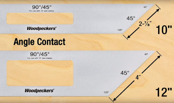 Comparing Woodpeckers blade gauge models