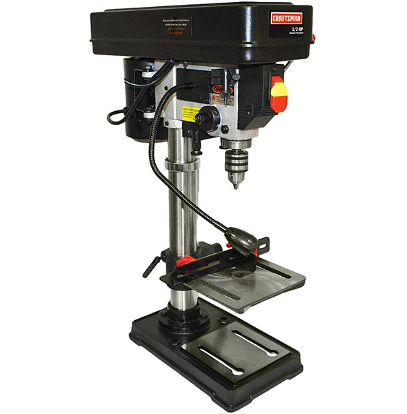 Craftsman 10-inch Benchtop Drill Press
