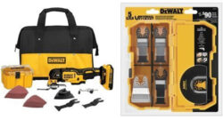 Deal of the Day: Dewalt Brushless Cordless Oscillating Multi-Tool + Bonus Accessory Set