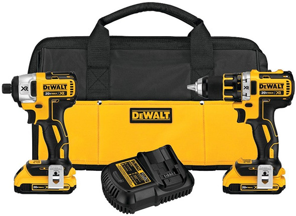 Dewalt DCK281D2 20V Max Brushless Drill and Impact Driver Combo Kit