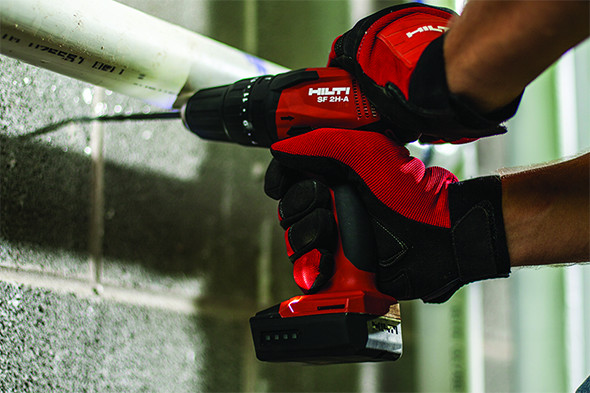 Hilti 12V Cordless Drill Masonry Application