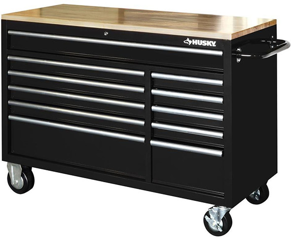 Husky 52 inch 11 Drawer Mobile Workbench
