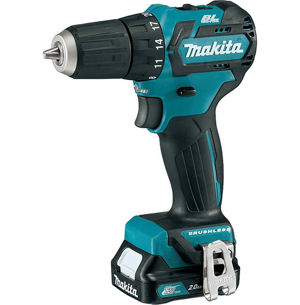 Makita 18v Sub  pact Brushless Cordless Drill Xfd11 on brushless motor for battery powered drill