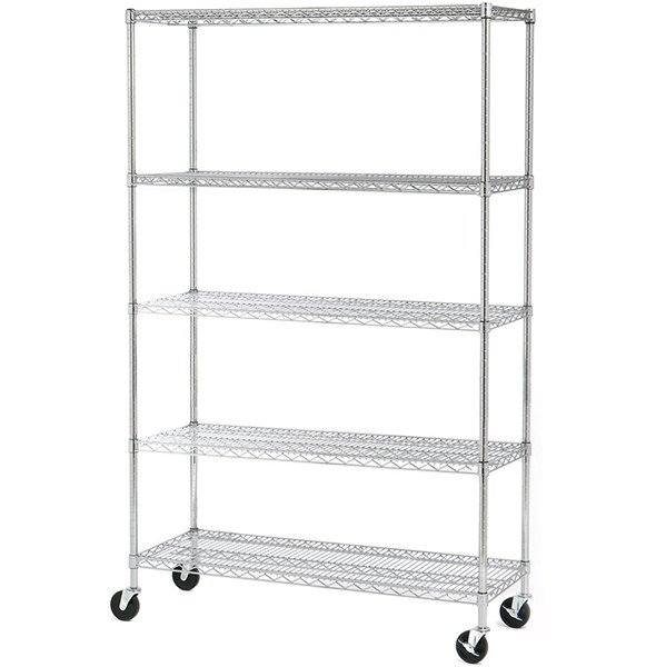 Seville 5 Shelf Wire Storage System