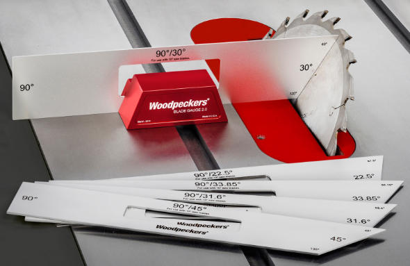 Woodpeckers Blade Gauge One Time Tool Product Shot