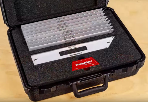 Woodpeckers Blade Gauge case