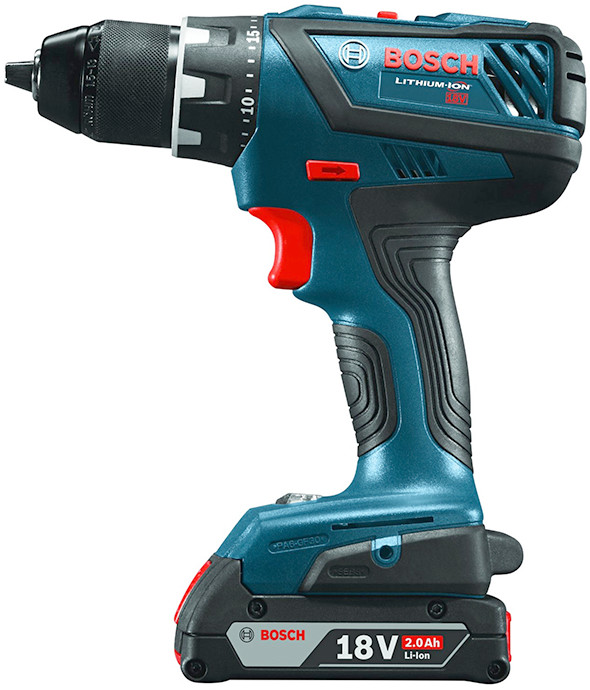 Bosch DDS181A Cordless Drill Side