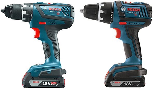 Bosch DDS181A vs DDS181 Cordless Drill Side by Side Comparison