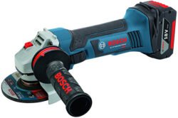 2 New Bosch Cordless Angle Grinders