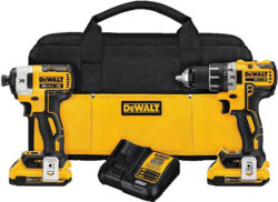 Dewalt Brushless Drill & Impact Driver Combo Kit Father's Day 2016 Deals