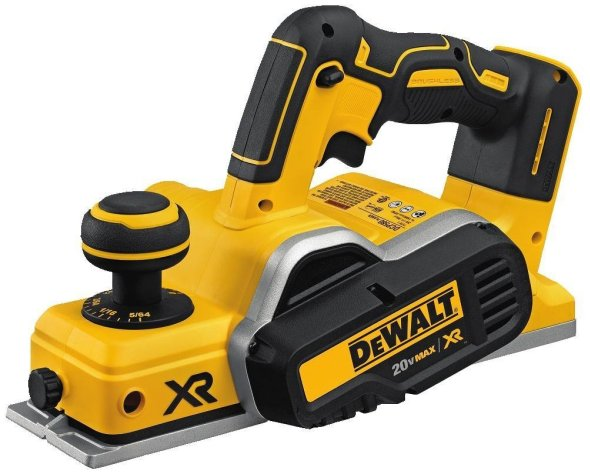 Dewalt Model DCP580B 20V Max Brushless Planer Product Shot via Amazon