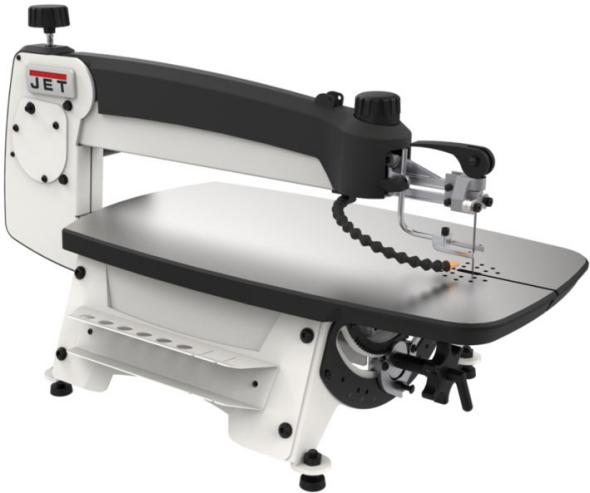 New jet scroll saw makes changing blades a breeze jwss 22 greentooth Image collections