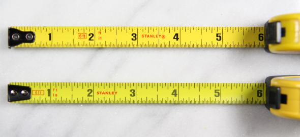Old Stanley FatMax Keychain Tape Measure vs New Blade Comparision