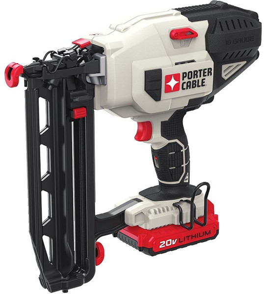 Porter Cable Cordless Straight Finish Nailer