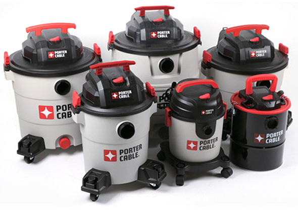 Porter Cable Vacuum Family