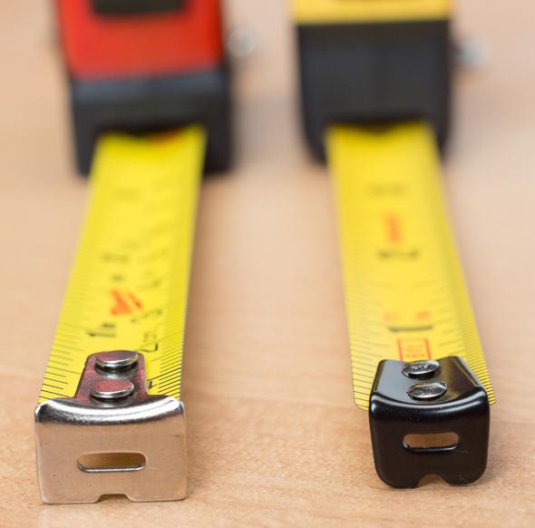 Stanley vs Milwaukee Keychain Tape Measure Hooks