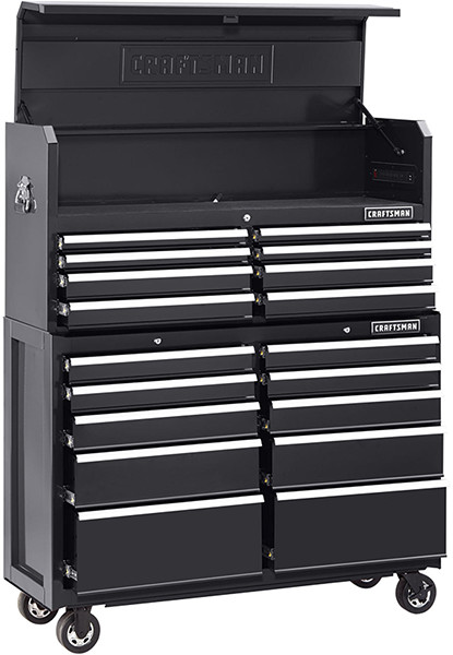 Craftsman 52-inch Tool Storage Combo in Black