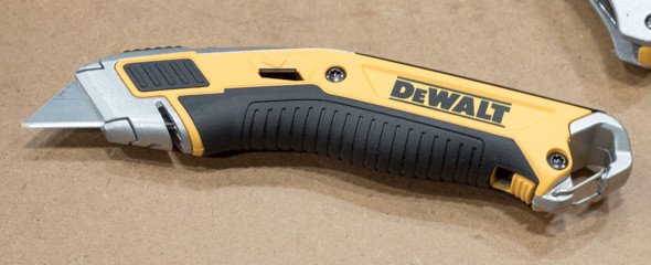 Dewalt Utility Knife with Easy Blade Change