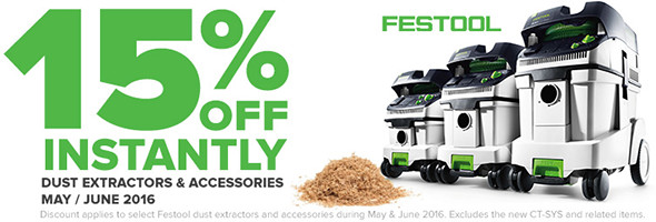 Festool Products Dust Extractor Sale June 2016