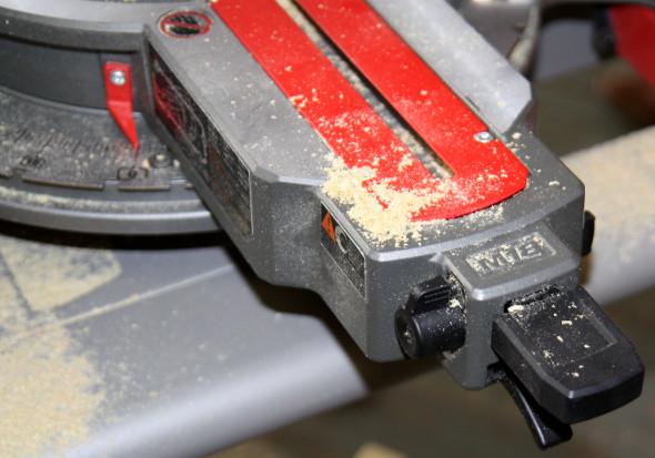 M18 Fuel Miter Saw Miter Adjustment