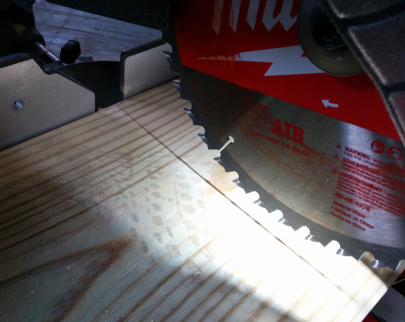 M18 Fuel Miter Saw Shadow Line