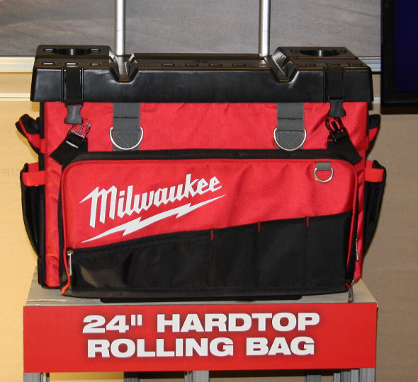 Milwaukee 24 inch Hard Top Rolling Bag