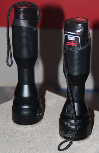 Milwaukee M12 metal flashlight actual flashlights