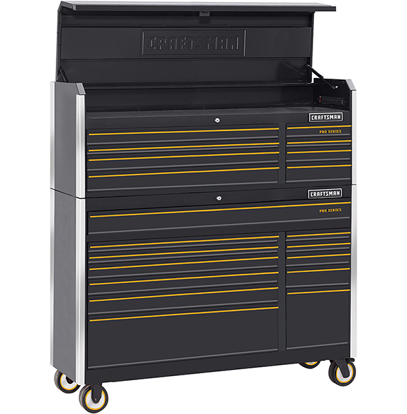 Incroyable Craftsman Pro Series 52 Inch Connected Tool Storage Combo
