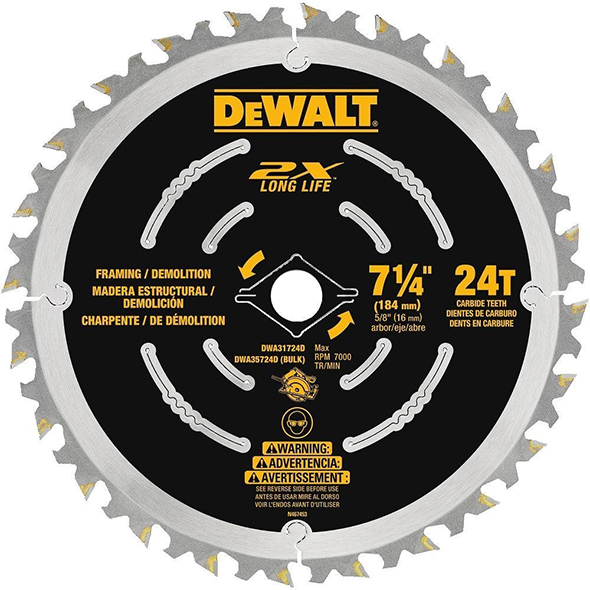 Dewalt DWA31724D Demolition Saw Blade