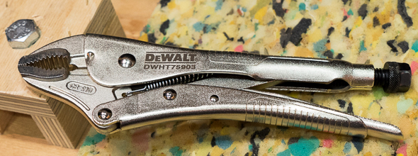 Dewalt Locking Pliers 2016 Media Event
