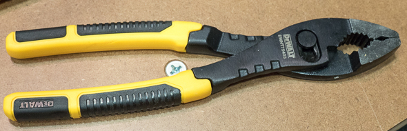 Dewalt Slip Joint Pliers 2016 Media Event