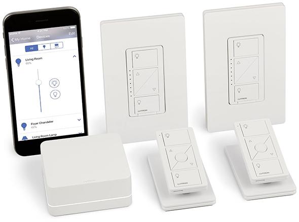 Lutron Caseta Light Dimming Smart Home Kit