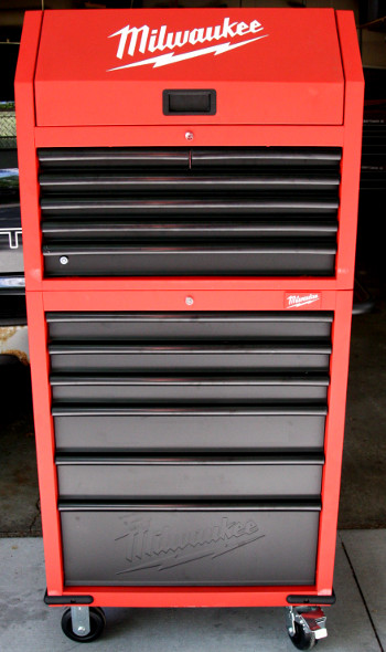 Milwaukee Drawer Rolling Steel Storage Cabinet Milwaukee