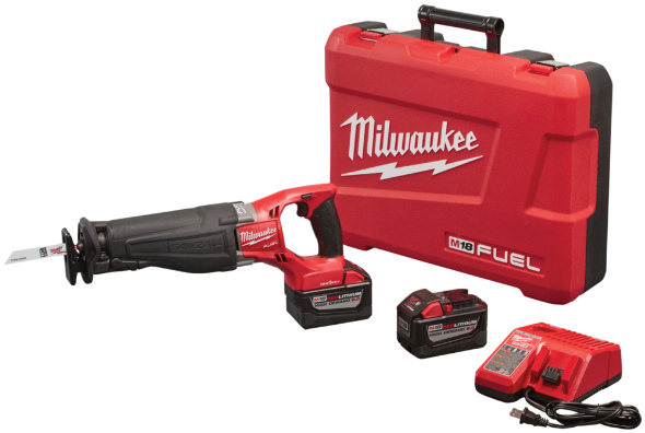 Milwaukee M18 Fueal One-Key Sawzall kit1
