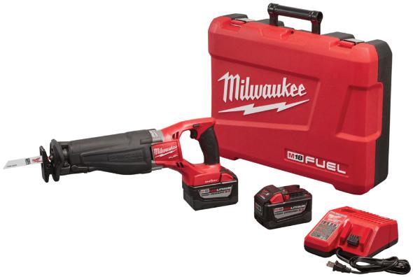 Milwaukee M18 Fueal One-Key Sawzall kit1